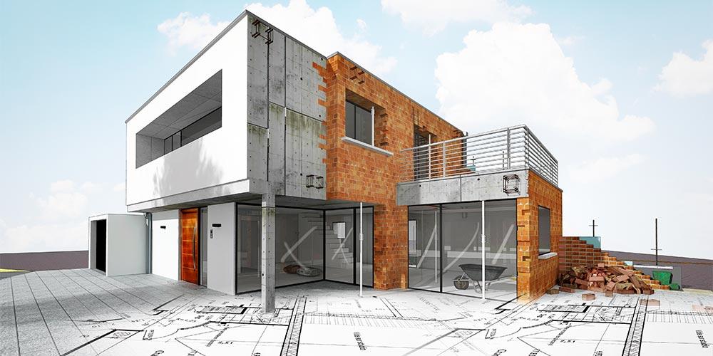 Architektenhaus des Baupartners Fundamenta in Megdeburg
