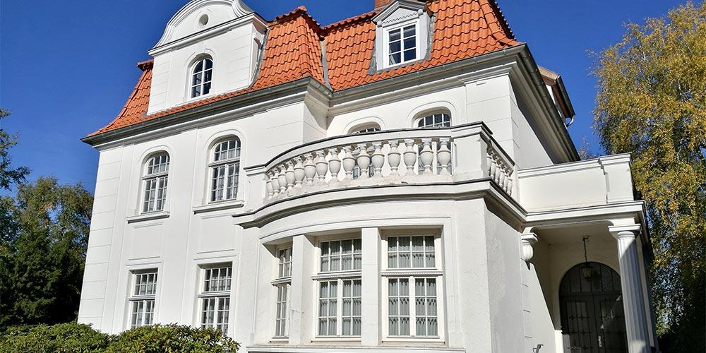 Stadtvilla des Baupartners Fundamenta in Megdeburg